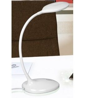 Schuller SCOOP Lámpara SOBREMESA de ESTUDIO LED, BLANCO