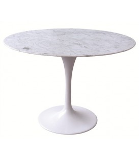 Best table tulip base dualuminium couvercle en marbre blanc with table ovale en marbre blanc - Table knoll ovale marbre blanc ...