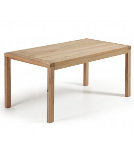 VIVY Table 200(280)x100 chêne naturel.