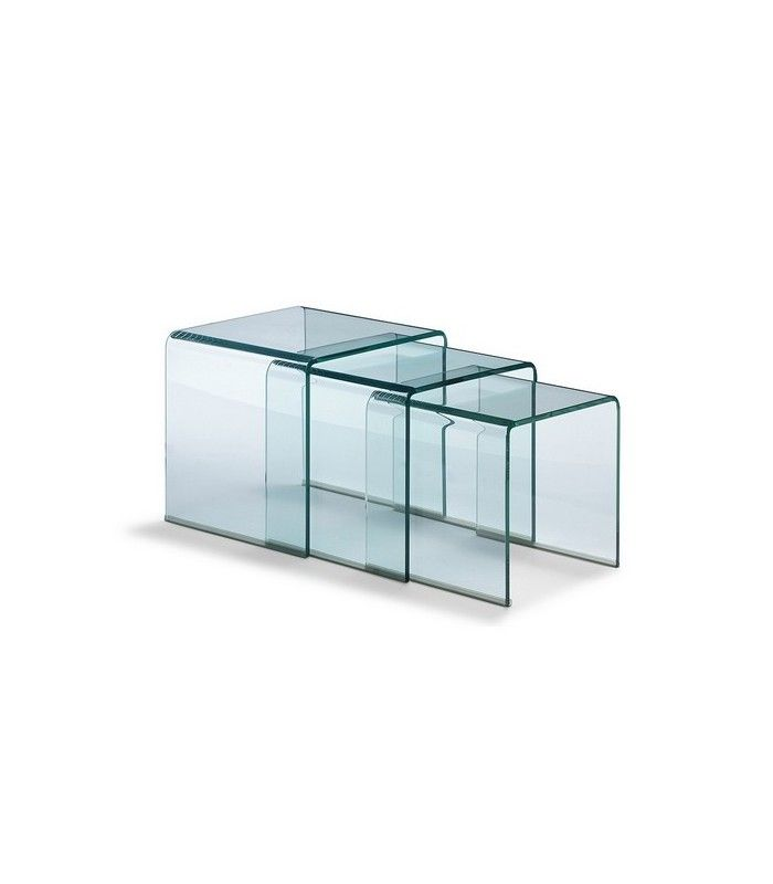 Tables en verre design centrolandia - Table en verre design ...