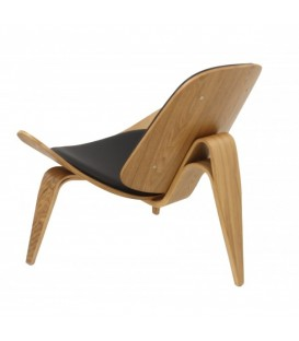 Lounge Chair Ch07 fresno, Replica Hans J. Wegner