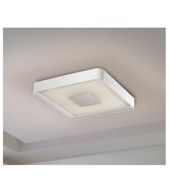 PLAFON SUNNY BLANCO 50X50, luz variable