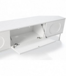 TEULAT MUEBLE TV ORBITA 180X40 BLANCO