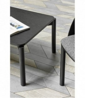 TEULAT CENTRE de la TABLE ATLAS 110x60, NOIR
