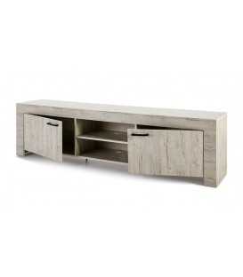 MUEBLE DE TV CONTEMPORANEO MICHIGAN 200x42, roble