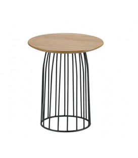 TABLE D'APPOINT AVEC LE DESIGN INDUSTRIEL, DIMAS.