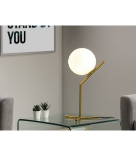 LAMPE DE TABLE AU DESIGN MODERNE, PLEY.