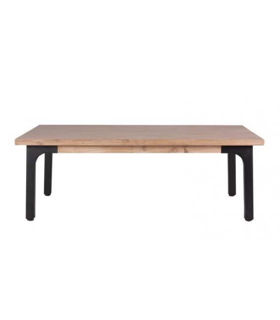 MESA CENTRO INDUSTRIAL AMSTER 120x70, madera, metal
