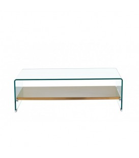 Table, de sol, de plateau, verre, 110x55 cms.