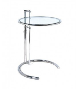 Côté table Napoli 50, Eileen Gray, Verre