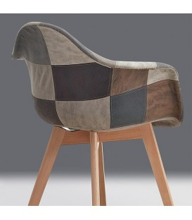 Silla SUPER ACANTHA ARMS, PATCHWORK