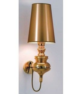 Lampe applique murale design moderne Joséphine, Golden écran d'Or