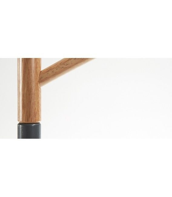 Perchero de diseño, BREN 170cm, Madera Natural