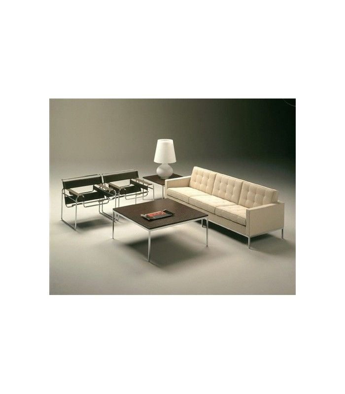 design contemporain canap 3 places inspir par florence knoll centrolandia. Black Bedroom Furniture Sets. Home Design Ideas