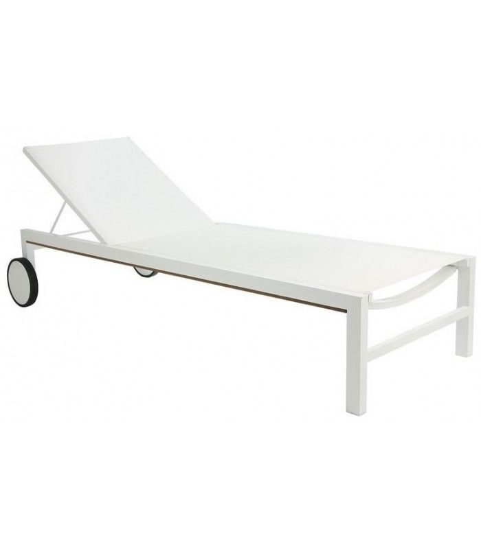 Conception de chaise longue cubique en aluminium for Chaise longue en aluminium