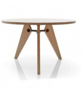 La conception de Gueri, table en bois ronde