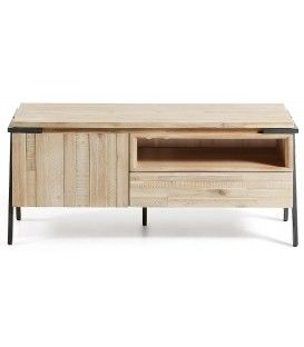 Design urbain DISSET 125 x 053, bois d'Acacia table TV