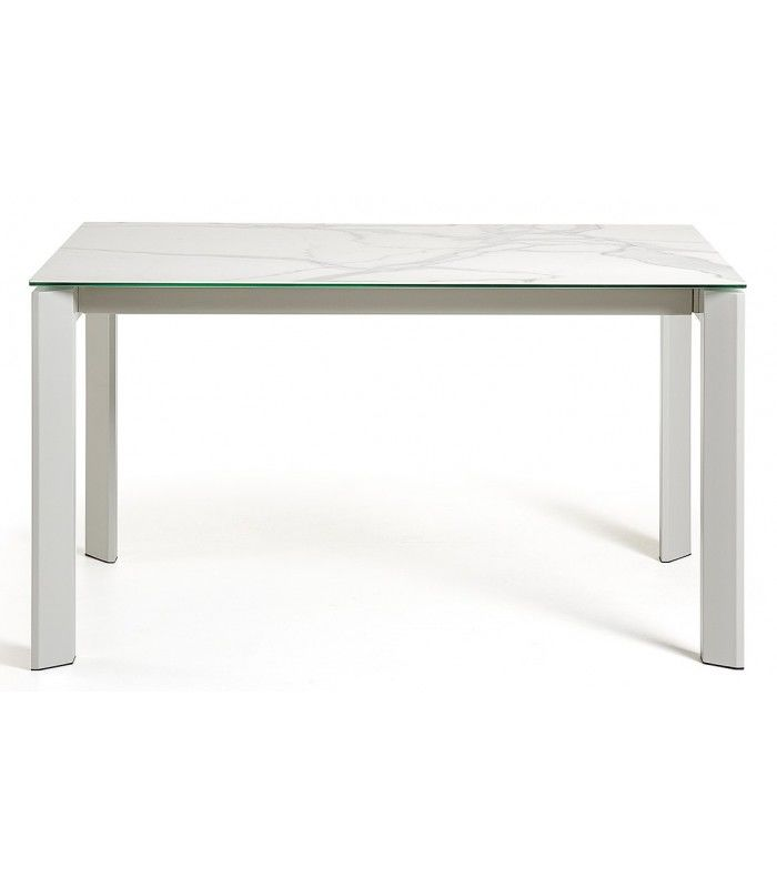 Céramique Atta220X Extensible 160 90HneEp De Table blancoSur mN8n0vw
