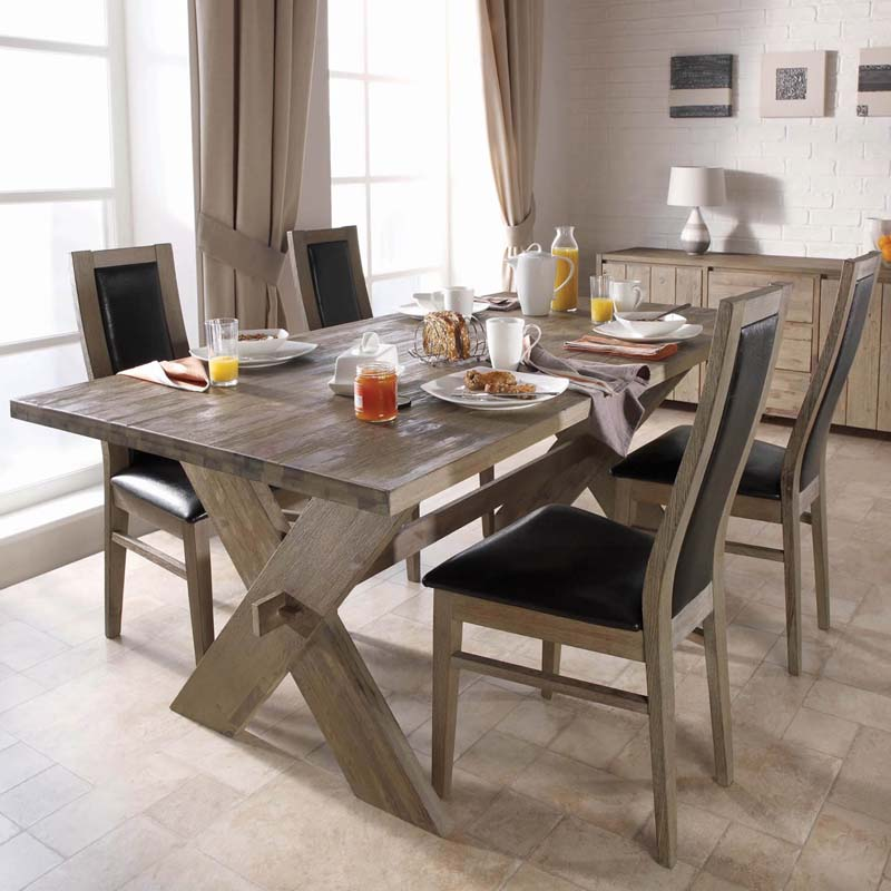 Rustic-Dining-Room-Table-With-Chairs-Poster8